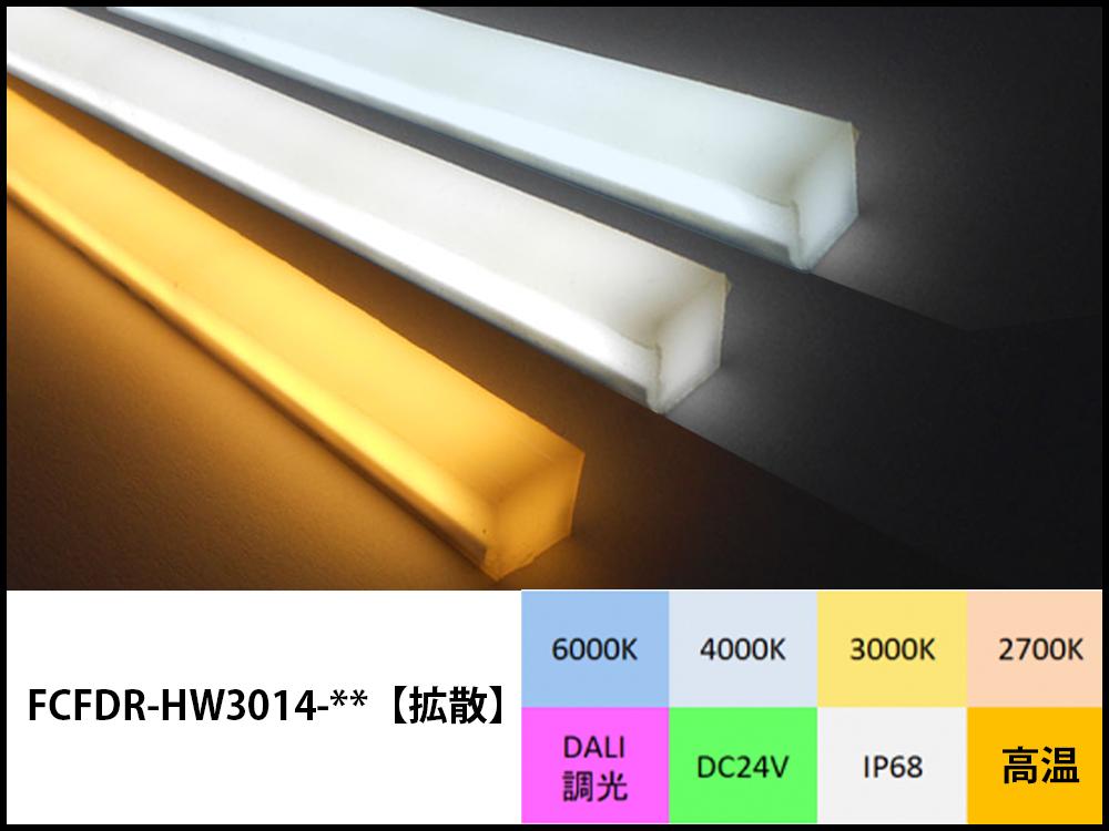 スクエアLEDテープライト高温耐熱型商品写真