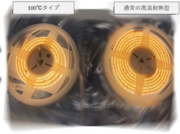 サウナ用テープライトの光量